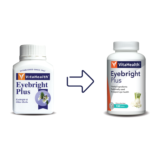 Vitahealth Eyebright Plus 130 Tablets