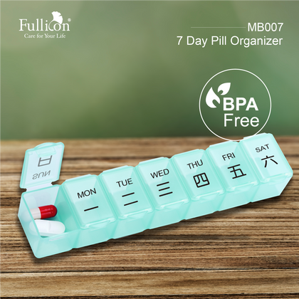 Fullicon 7 Day Pill Organizer Mb007
