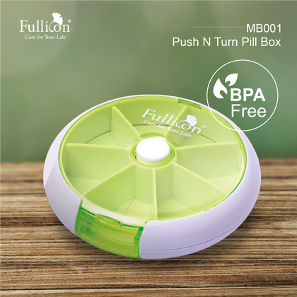 Fullicon Push N Turn Pill Box Mb001