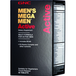 GNC Mega Men Active 90 Tablets