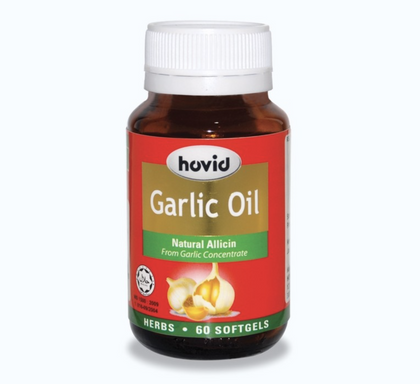 Hovid Garlic Oil 180S Healthcare & Supplements