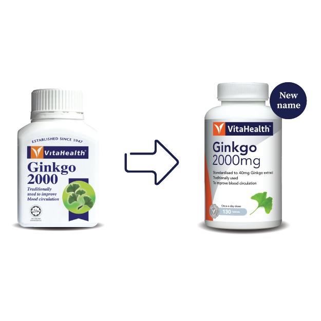 Vitahealth Ginkgo 2000 400Mg 130 Tablets