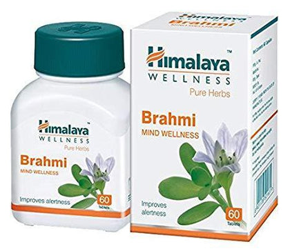 Himalaya Brahmi 60 Tablets Healthcare & Supplements