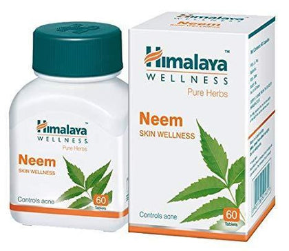 Himalaya Neem Skin Wellness 60S Healthcare & Supplements