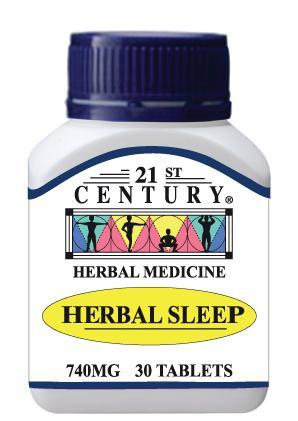 21st Century Herbal Sleep 740mg 30 Tablets