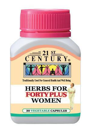 21St Century Herbs For Forty Plus Women 30 Capsules Healthcare & Supplements