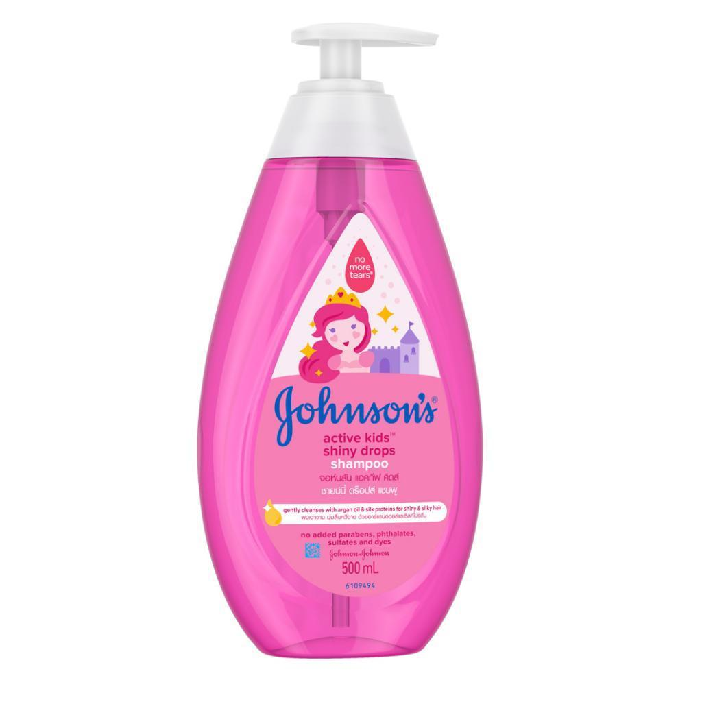 Johnsons Active Kids Shiny Drops Shampoo 200Ml / 500Ml
