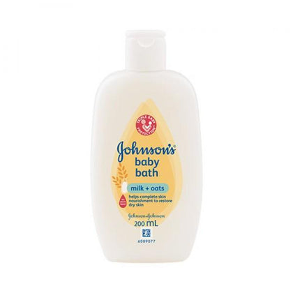Johnsons Baby Bath Milk & Oat 200Ml / 750Ml 1000Ml