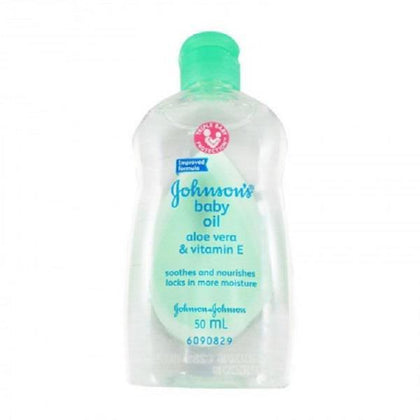 Johnsons Baby Oil Aloe Vera & Vitamin E 50Ml / 125Ml
