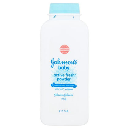 Johnson's Baby Active Fresh Powder 100g / 300g