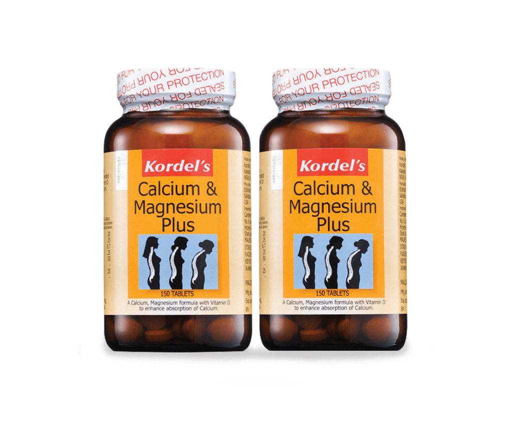 Kordel's Calcium & Magnesium Plus 2 x 150 Tablets