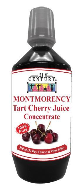 21St Century Montmorency Tart Cherry Juice Concentrate 500Ml