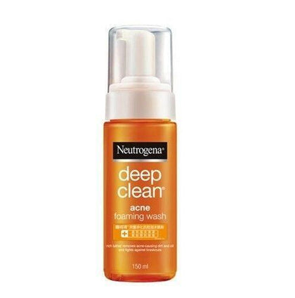 Neutrogena Deep Clean Acne Foaming Wash 150Ml Skin Care