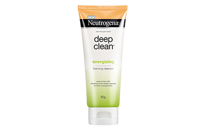 Neutrogena Deep Clean Energizing Foaming Cleanser 85G Skin Care