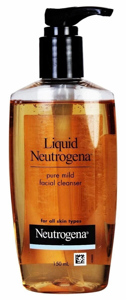Neutrogena Liquid Pure Mild Facial Cleanser Fragrance Free 150Ml