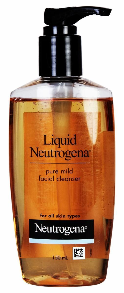 Neutrogena Liquid Pure Mild Facial Cleanser Fragrance Free 100Ml