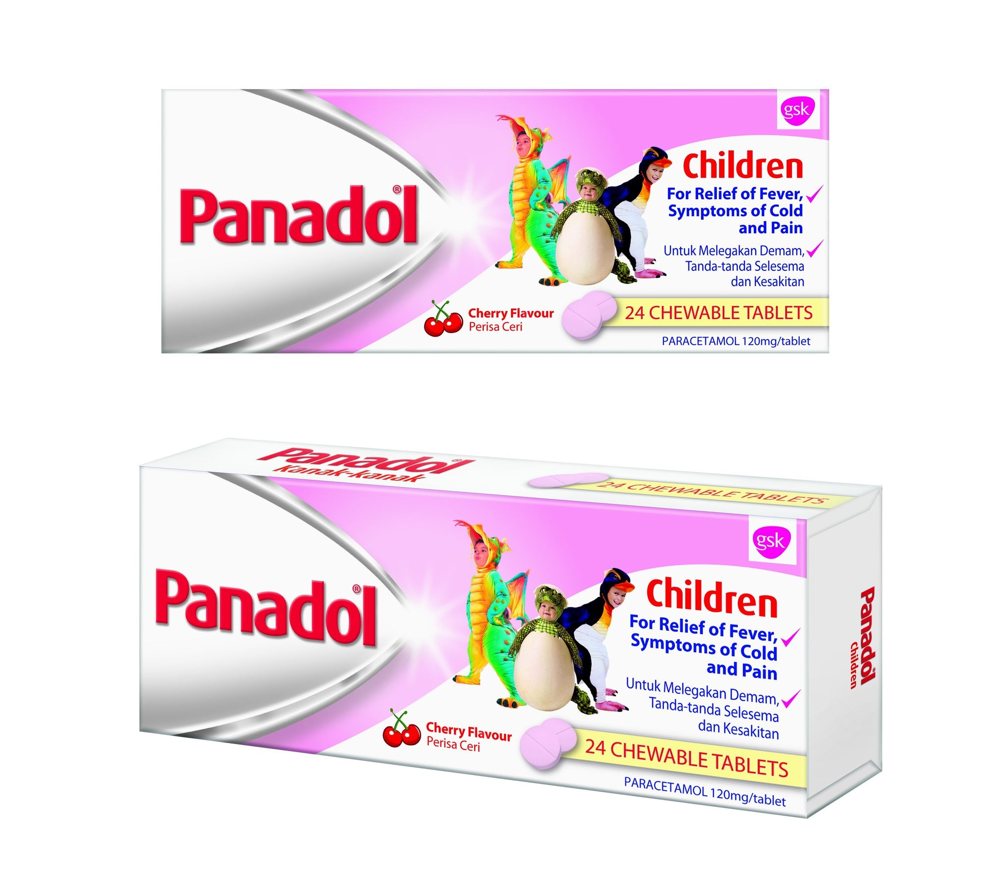 Panadol For Children 120Mg 24S