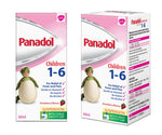 Panadol Suspension 1-6 years 60ml