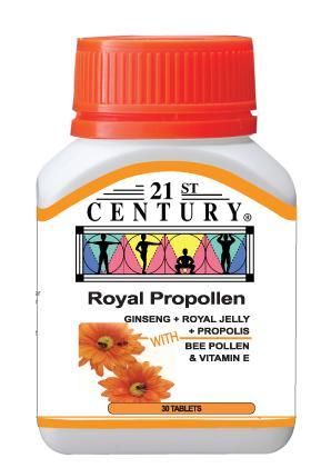 21St Century Royal Propollen 30 Tablets Healthcare & Supplements
