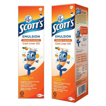 Scotts Cod Liver Oil Twin Pack