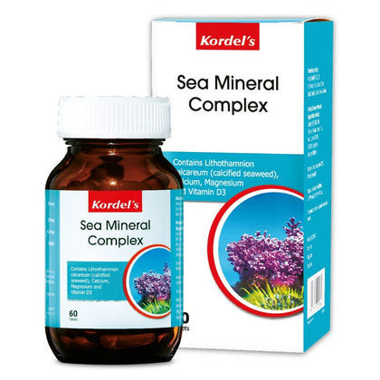 Kordels Sea Mineral Complex 60 Tablets Healthcare & Supplements