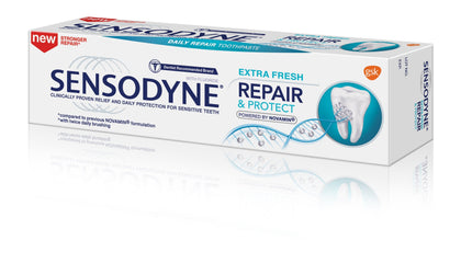 Sensodyne Repair And Protect Toothpaste Original / Whitening Extra Fresh 100G