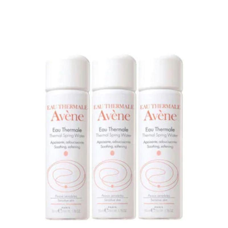 Avene Thermal Spring Water 50ml x 3