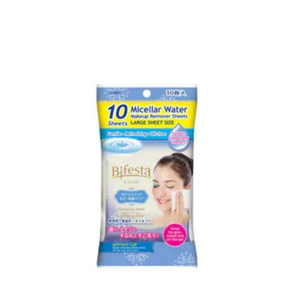 Bifesta Cleansing Sheet Brightup 10s