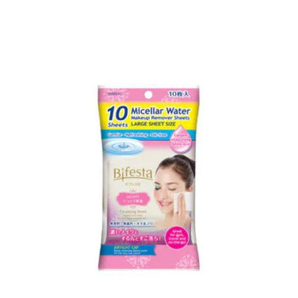 Bifesta Cleansing Sheet Moist 10S