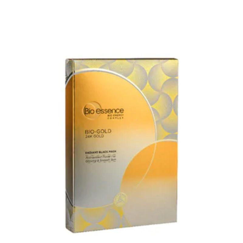 Bio-Essence Bio-Gold 24K Gold Radiant Black Facial Mask 4S