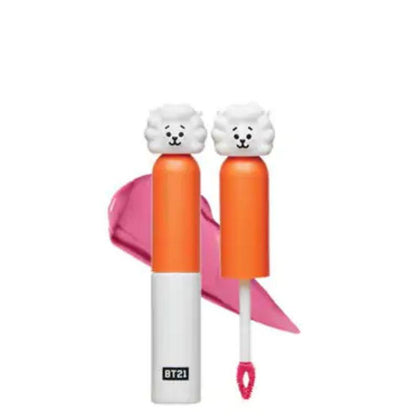 Bt21 Cream Lip Lacquer 02 Vanilla Pink