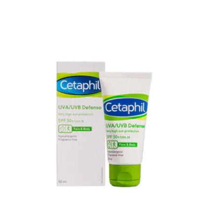 Cetaphil UVA / UVB Defense Face & Body Skin Protection 50ml