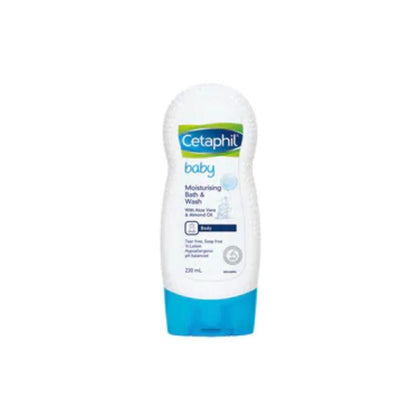 Cetaphil Baby Ultra Moisturising Bath & Wash 230ml