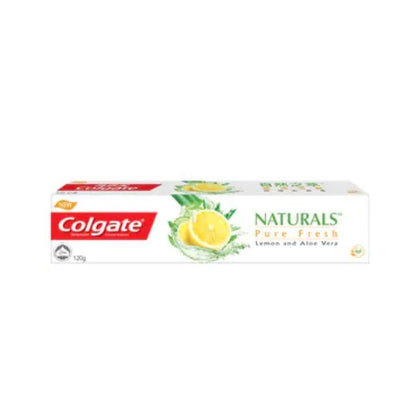 Colgate Naturals Pure Fresh Lemon And Aloe Vera Toothpaste 120G