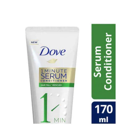 Dove 1 Minutes Serum Hair Fall Rescue Conditioner 170Ml