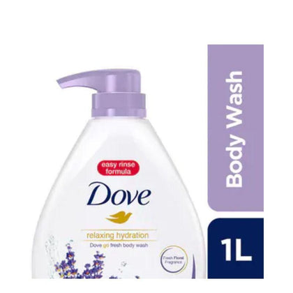 Dove Relaxing Hydration Body Wash 1000ml