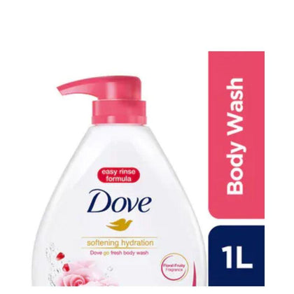 Dove Softening Hydration Body Wash 1000Ml