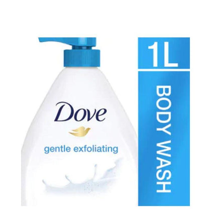 Dove Gentle Exfoliating Body Wash 1000Ml