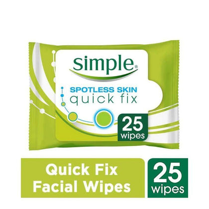 Simple Spotless Skin Quick Fix Cleansing Wipes 25S