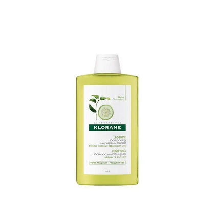 Klorane Citrus Pulp Shampoo (Oily Scalp) 400Ml