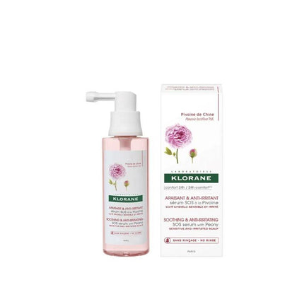 Klorane Peony Sos Serum (Sensitive Scalp) 65Ml