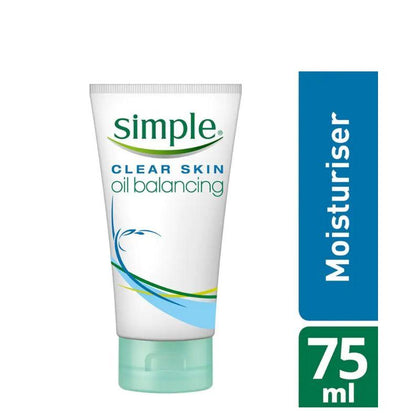 Simple Oil Balancing Moisturiser 75Ml