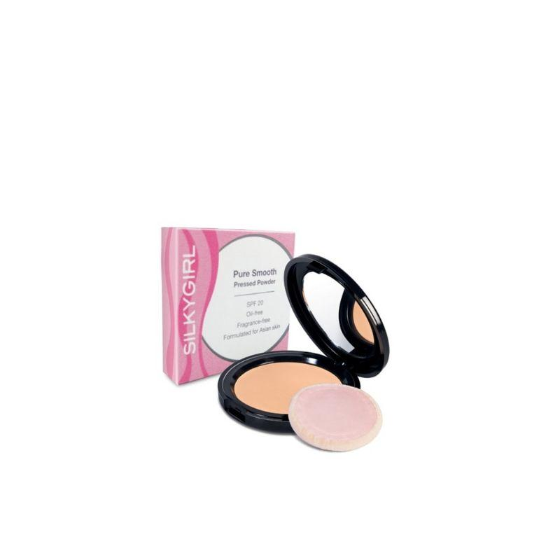 Silkygirl Pure Smooth Pressed Powder Natural 10G