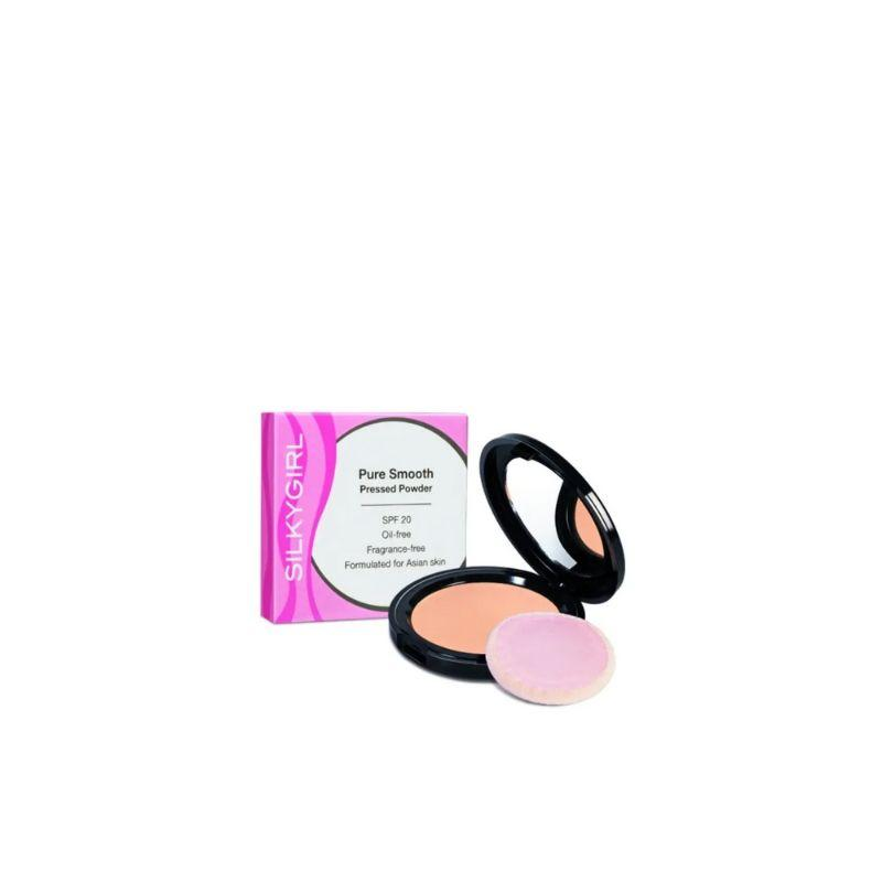 Silkygirl Pure Smooth Press Powder Ivy 10G