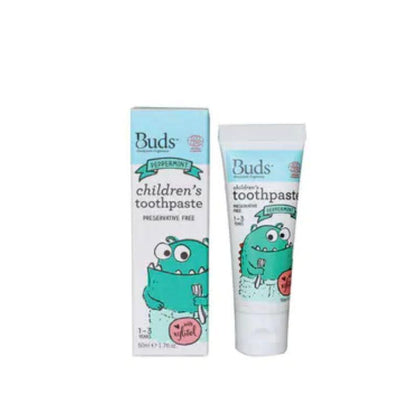 Buds Children Toothpaste XYL Peppermint 50ml
