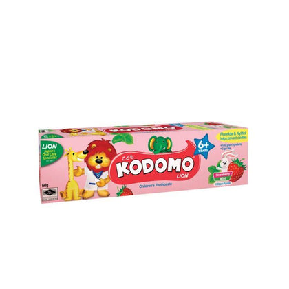 Kodomo 6+ Strawberry Mint Toothpaste 60G