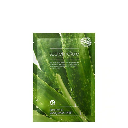 Secret Nature Sooth Aloe Mask 1s