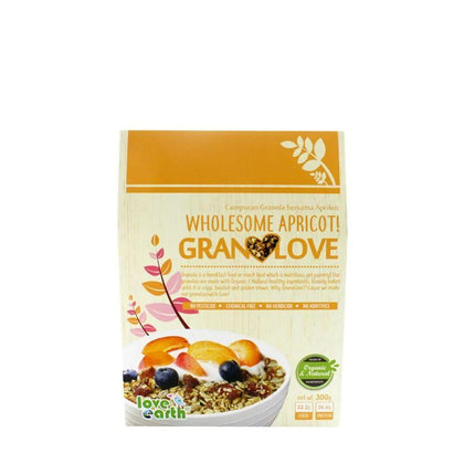 Love Earth Wholesome Apricot! Granolove 300G