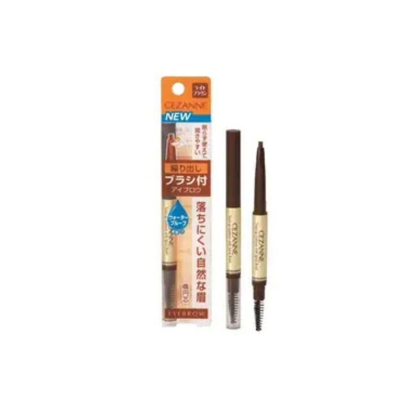 Cezanne Twist-Up Eyebrow With Spiral Brush 01 0.28G