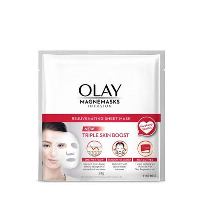 Olay Magnemasks Infusion Rejuvenating Sheet Mask 24G